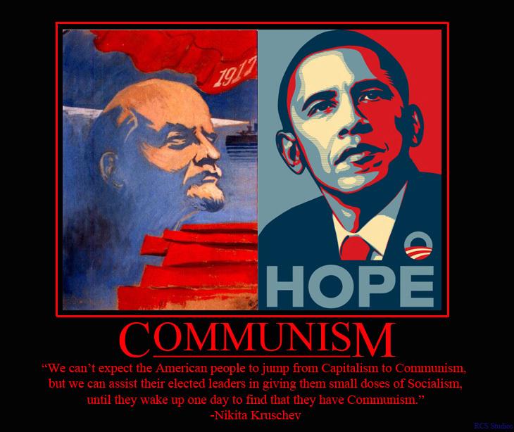 Obama-communism